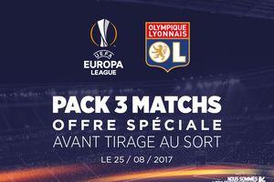 Avant première:Réservez Votre  PACK 3 MATCHS EUROPA LEAGUE à tarif réduit à partir de 54 euros