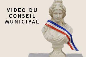 La vidéo du conseil municipal du 10 octobre 2017 est en ligne