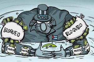Le commerce intérieur : une autre cible du blocus