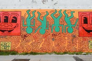 Diaporama Keith Haring chez Cyrille