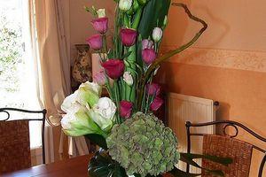 Margaux et ses fleurs - Bouquet de Novembre