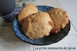 Cookies aux flocons d'avoine et éclats de caramel