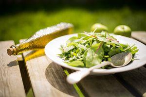 Salade ananas et chevre
