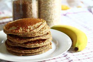 Pancakes a la farine de Chataignes