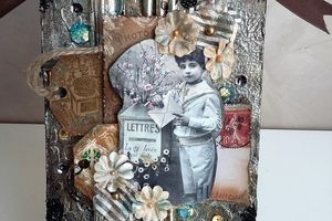 Vintage Tag Mixed Media Video Tutorial