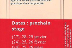 Formation en hypnose à Paris : (27)-28-29 janvier 2017 >module 1 ; (24)-25-26 février>module 2 ; (24)-25-26 mars>module 3