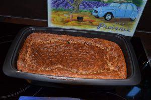 CAKE AUX COURGETTES à la RICOTTA et à la FETA