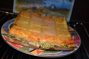 CROQUE MONSIEUR COURGETTE WEIGHT WATCHERS