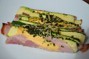TIAN DE COURGETTES AU JAMBON WEIGHT WATCHERS