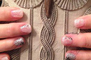 Nail art: Hiver scintillant