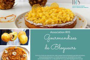GOURMANDISES DE BLOGUEURS - ASSOCIATION IRIS
