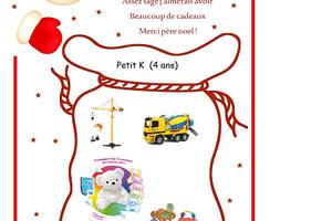 La wishlist Noël pour les enfants de 3 à 6 ans + anniversaire 4 ans