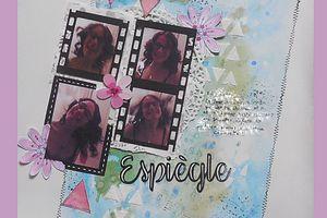 """Ma participation au challenge page """" selfie """" de mai"""