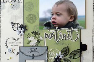 Les 4 dernières pages de version scrap en Florilèges Design
