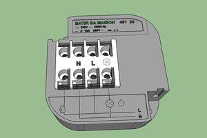 BRANCHEMENT ELECTRIQUE COMMENT FAIRE ? Circuit Eclairage Télérupteur Unipolaire Encastrable