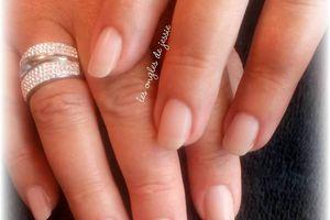 GAINAGE renfort d'ongles naturels