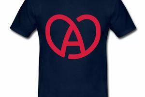 T Shirt Alsace bleu m homme Cœur Alsacien