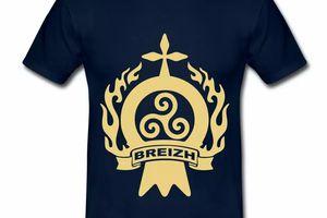 T Shirt Bretagne Breizh BZH 146160116-109423147