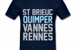 T-Shirt Quimper Bretagne BM