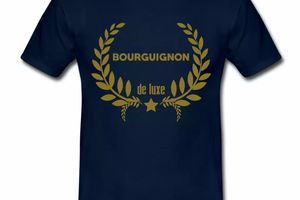 T Shirt Bourgogne Bourguignon de Luxe HBM
