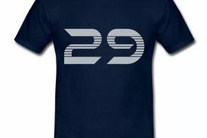 T Shirt Bretagne bleu m hommes Finistère département 29
