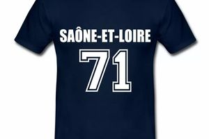 T Shirt Bourgogne Saône et Loire 71 Sport HBM