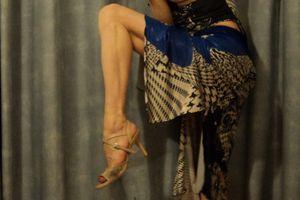 Graine de star, jeu de jambes spectaculaire d'une danseuse incroyable