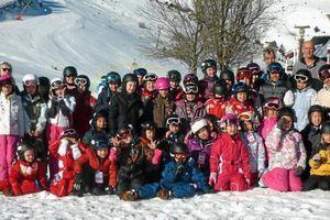 Ouest France - 41 enfants en classe de neige dans les Hautes-Pyrénées