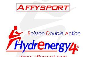 J'ai testé pour vous... La boisson Hydrenergy4 de chez Affysport