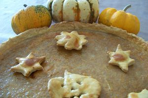 Tarte à la citrouille aux épices (Pumpkin pie)