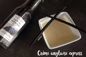 Crème anglaise express