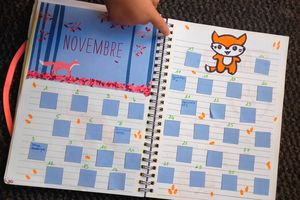 Bullet journal Novembre- Fox inside !