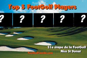 Top 5 FootGolf Players Nice