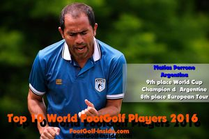 Top 10 World FootGolf PLayers 2016