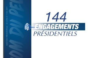 Marine LE PEN  :  voici mes 144 engagements...