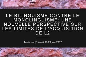Colloque BiMo 2017 - Bilinguisme contre Monolinguisme - 19-20 juin 2017
