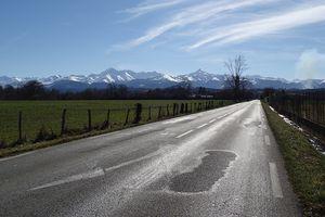 Pyrénées+neige+soleil
