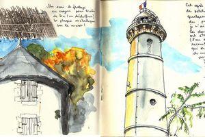 Sketchcrawl #53 à Lorient... Après-midi