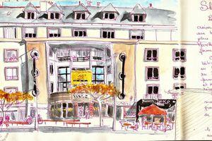 Sketchcrawl #54... Lorient le matin
