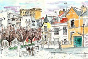 Sketchcrawl #54... Lorient Après-midi
