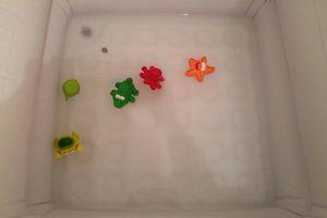 Adepte du bain libre ... dans ma douche