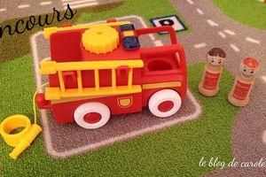 {Concours clos} My Home Town Camion de pompier - BRIO