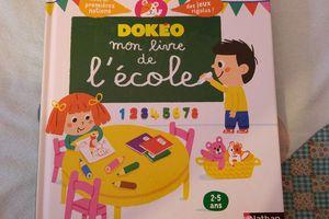 """Dokéo """"mon livre de l'école"""" - Editions Nathan"""