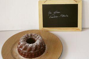 Mon gâteau framboise-Pistache