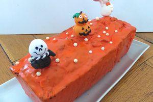 Mon horrible cake surprise comme un champignon vénéneux