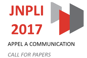 JNPLI 2017 - Appel à Communication