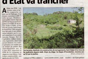 L'ORTE: LE CONSEIL D'ETAT DONNE DEFINITIVEMENT RAISON AUX PERDIGONES