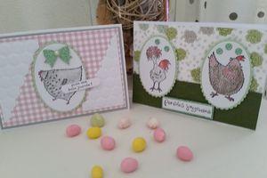 Cartes gallinacés