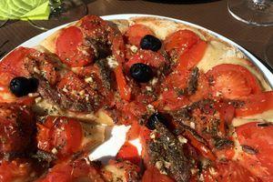 Une pizza à Saint Martin de Londres