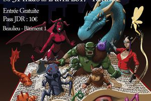 Affiche pour la convention de JDR Eclipse 14